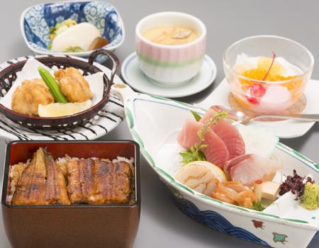 うなぎ・寿司・和食処 八幡屋 うまい丼 2,000円
